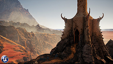 KORATH: The Witcher Inspired Scene - environment art screen shots and breakdowns
