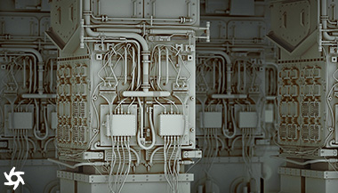 3D model of Fusion Reactor at NIF. Modelled in MODO and rendered in Octane